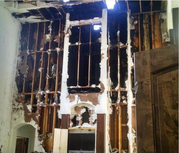 Fire Damage – Palatine Home Before